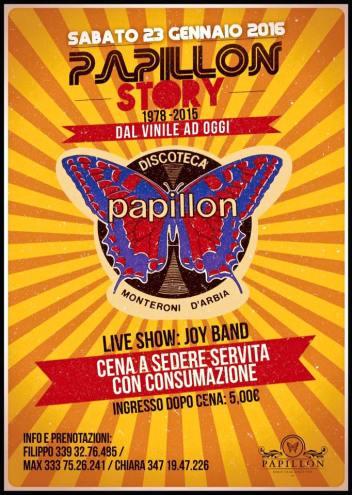 Locandin Papillon Story 23.01.2015