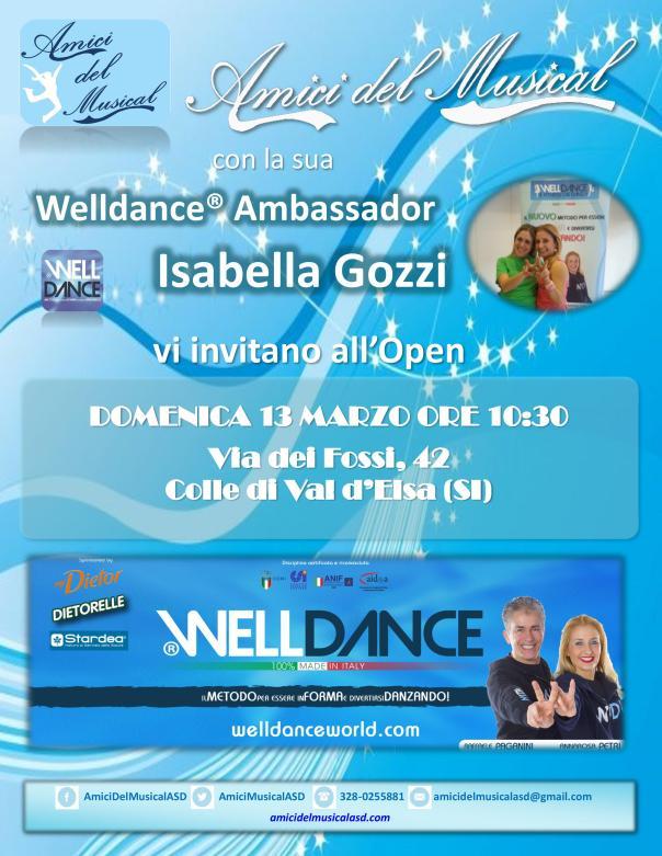 Locandina Welldance 13 marzo 2016