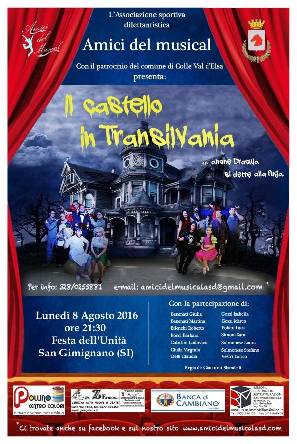 Locandina Tournée San Gimignano 2016