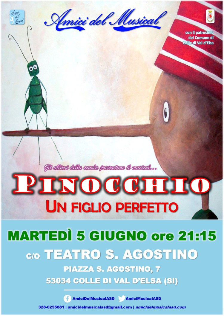 Locandina A3 Pinocchio